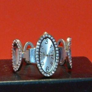 Women's Versales Rhinestone Bracelet Watch